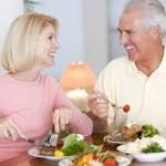Bild Ehepaar Frühstück