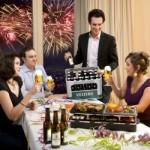 Bild Gesellschaft beim Raclette Diner